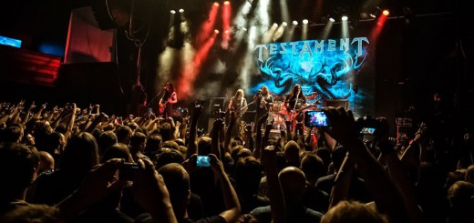 Концерт Testament в Москве
