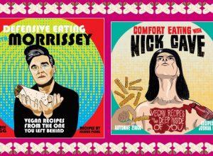 Microcosm Publishing выпускает книги веганских рецептов, вдохновленные Моррисси и Кейвом