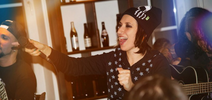 Пиво группы Louna: команда представила авторский пейл-эль в баре 1516