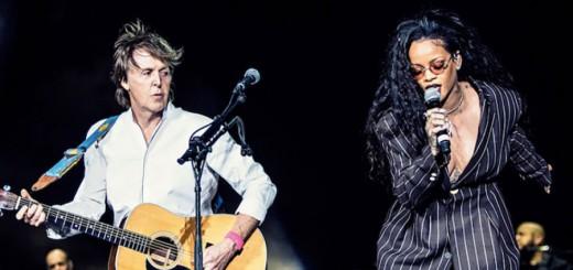 Живое совместное выступление Rihanna & Paul McCartney - FourFiveSeconds на Coachella 2016