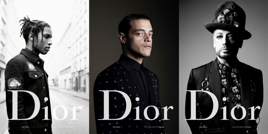 Dior Homme 2017 Boy George