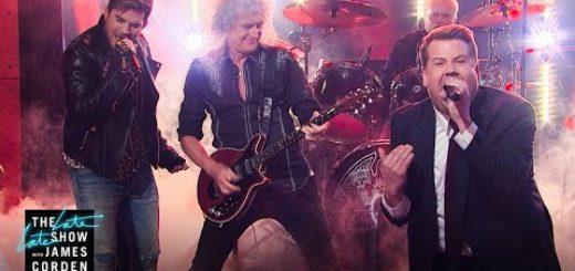 Джеймс Корден стал вокалистом Queen