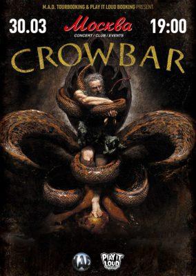 Концерт CROWBAR 30 марта