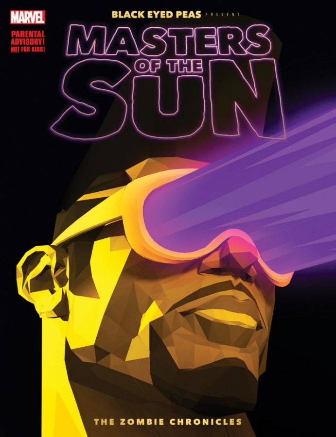 Графический роман Black Eyed Peas и Marvel Comics «Masters of the Sun - The Zombie Chronicles»