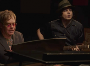 официальная премьера песни Elton John & Jack White - 2 Fingers of Whiskey