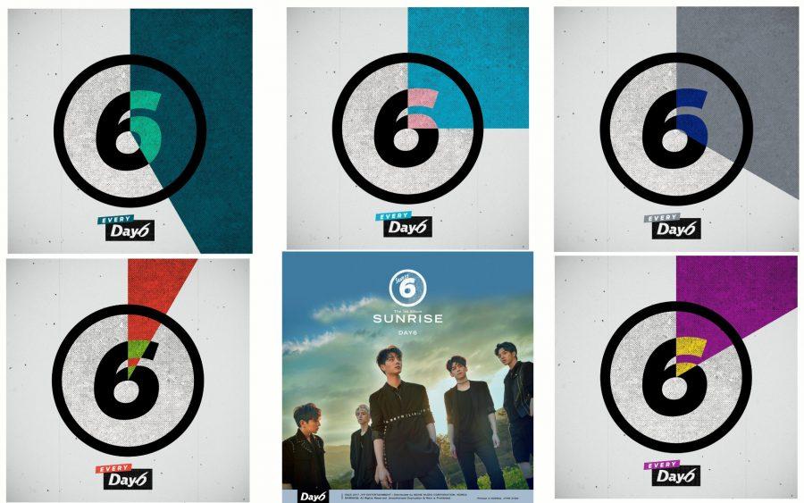 Дебютный альбом DAY6 - SUNRISE: k-rock во всей палитре