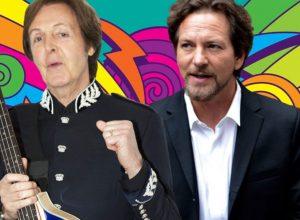 Лидер Pearl Jam Эдди Веддер рассказал, как его ударил Пол Маккартни