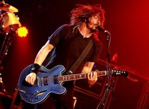 Забавное происшествие на концерте Foo Fighters