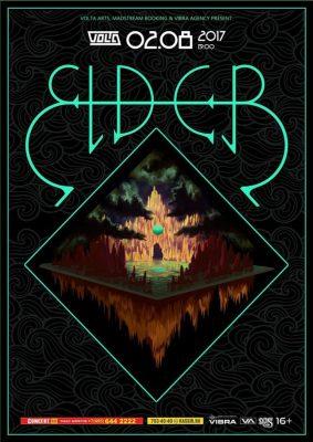 Билеты на концерт Elder 2 августа в клубе Volta в Москве | Eatmusic
