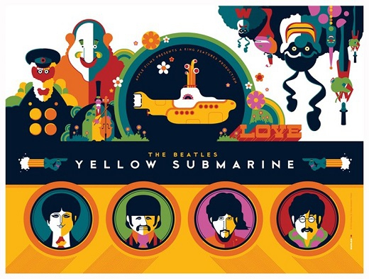 желтая подводная лодка мультфильм на русском
