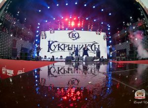 Кукрыниксы на фестивале Нашествие 2017: репортаж фото
