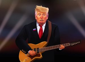 Анимированный Трамп спел Creep (Tweet)