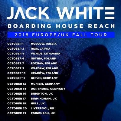 Концерт Джека Уайта в Москве откроет европейский тур музыканта