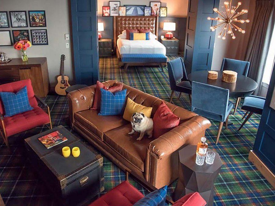Апартаменты для поклонников The Beatles и Pearl Jam появились в гостинице Edgewater в рамках проекта Rock N' Roll Suites