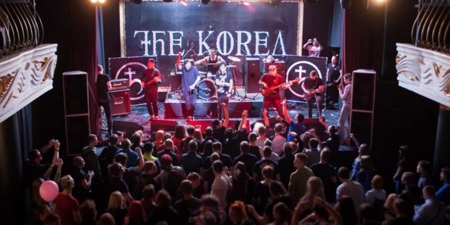 Концерт The Korea в клубе Театръ