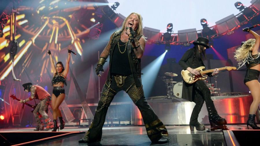 Прощальный концертный DVD Mötley Crüe – The End