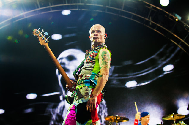 Red Hot Chili Peppers перепутали
