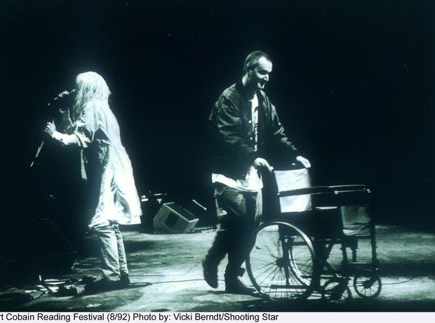 знаменитый концерт Nirvana в Рединге