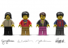 Набор The Beatles' LEGO Yellow Submarine