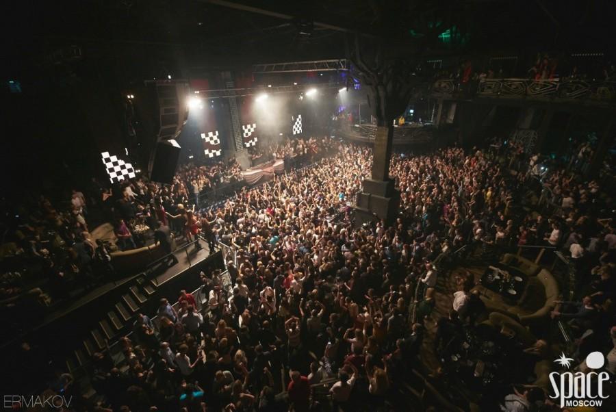 Клуб Space Moscow: расписание концертов, афиша