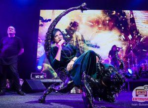 Группа «Мельница» представила свой новый альбом «Химера» в клубе «Yotaspace»