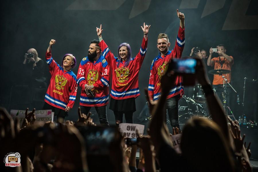 Концерт Skillet в Москве: репортаж, фото