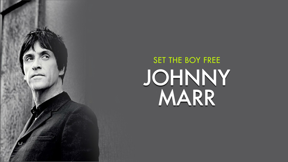 книга Джонни Марра «Set The Boy Free»