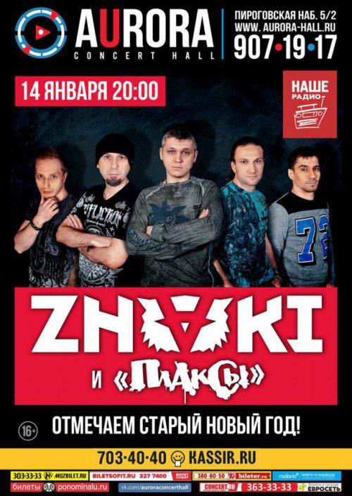 Концерт группы ZNAKI 14 января