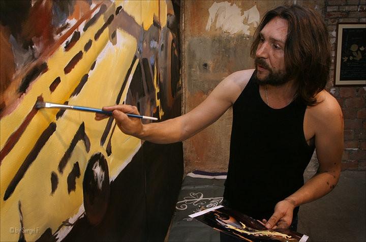 Выставка Сергея Шнурова откроется в феврале