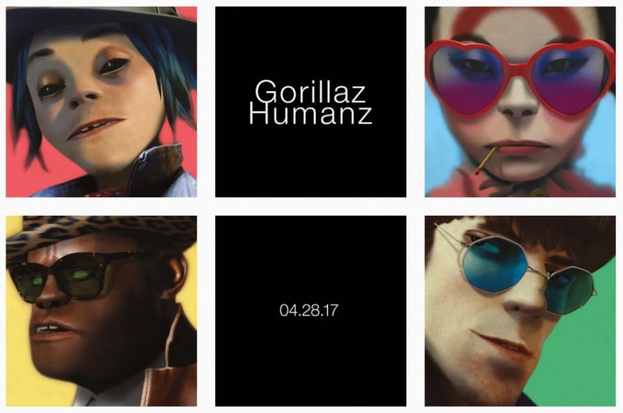 Клипы Gorillaz