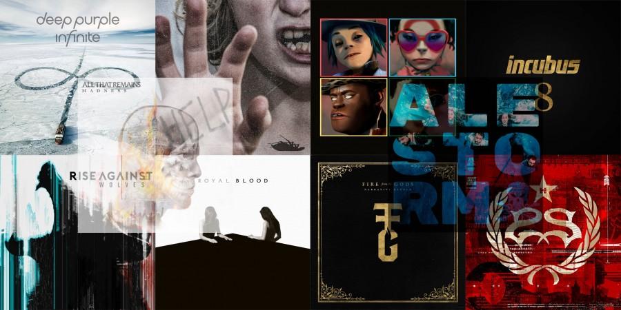 Топ-10 новинок рок-музыки за апрель 2017
