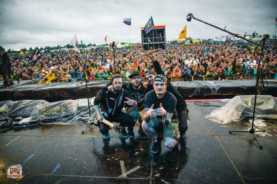 Группа Stigmata на фестивале Нашествие 2017: репортаж, фото Екатерина Шуть