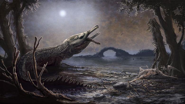 Доисторический крокодилLemmysuchus obtusidens назван в честь Лемми