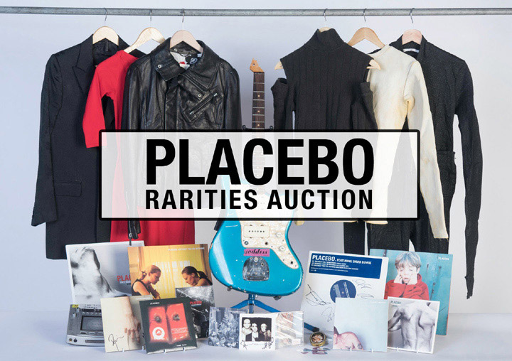 Placebo Rarities Auction 2017