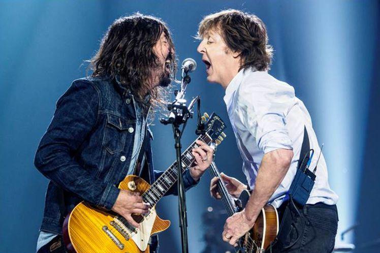 Пол Маккартни и Foo Fighters поработали вместе