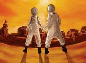 Дебютный альбом группы Серый кит - Летим на Марс