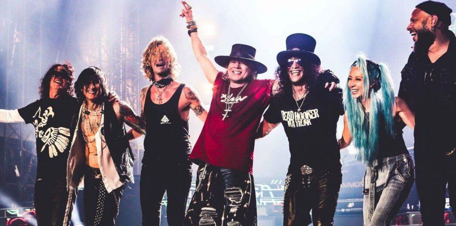 Концерт Guns N' Roses в Москве