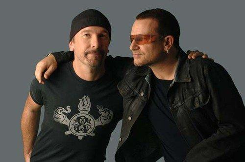 Боно и Эдж U2