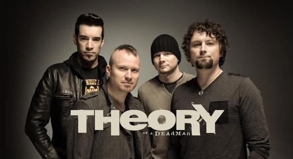 Theory of A Deadman представят альбом Wake Up Call в России