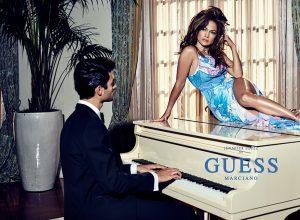 новые снимки рекламной компании Дженнифер Лопес для Guess