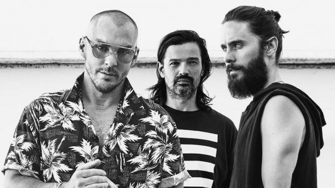 """The New Album"" 30 Seconds to Mars выйдет в апреле"