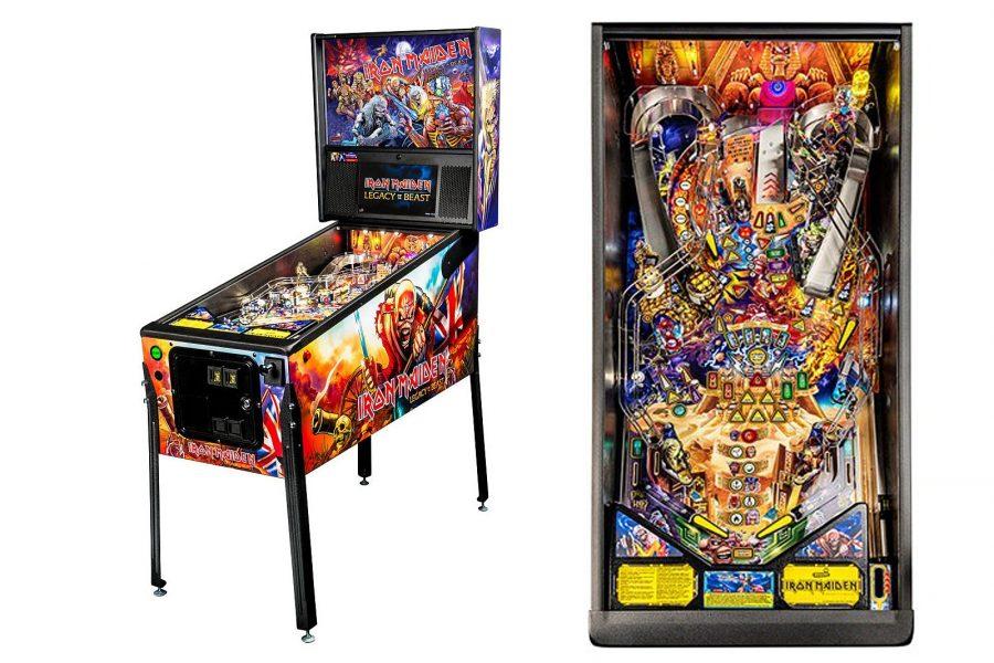 Стол для игры в пинбол от Iron Maiden