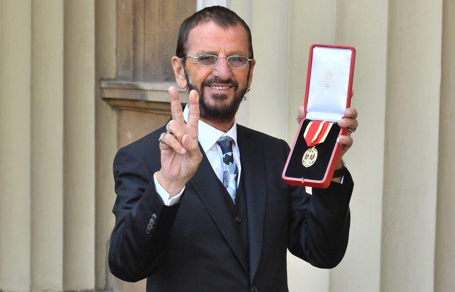 Посвящение Ринго Старра в рыцари состоялось
