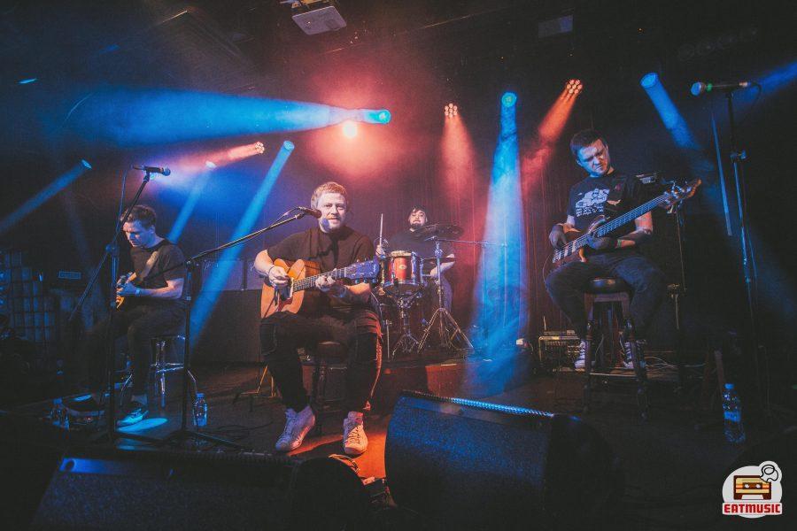 Группа «Полюса» (акустический концерт в «16 Тонн» 01-04-2018): репортаж, фото Алевтина Легещич