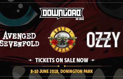 Фестиваль Download 2018 Великобритания (UK)