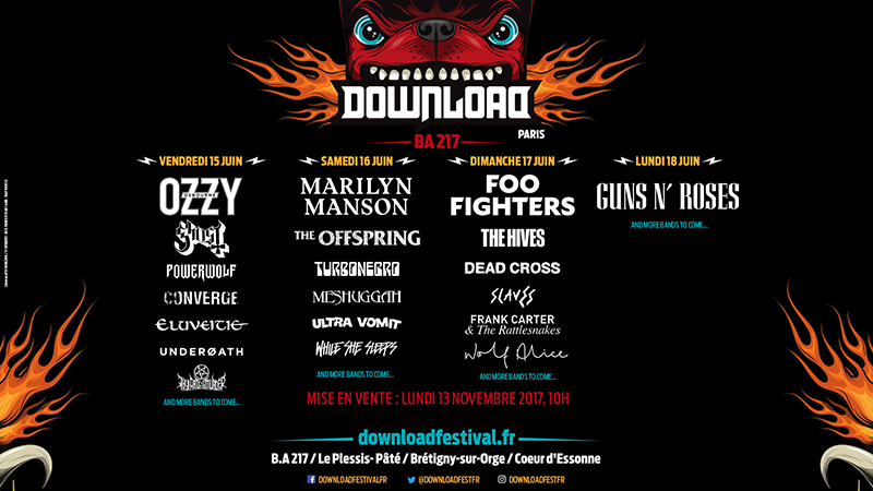 Фестиваль Download Paris 2018