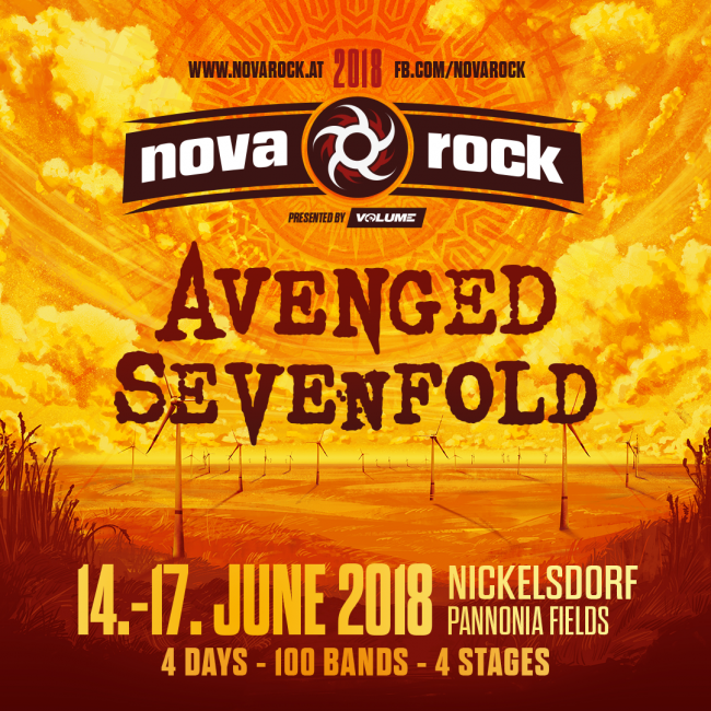 Фестиваль Nova Rock 2018