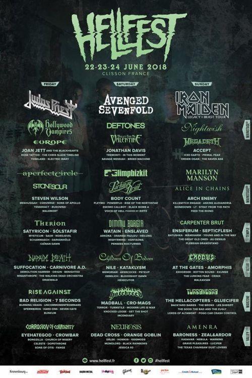 Фестиваль Hellfest Open Air 2018