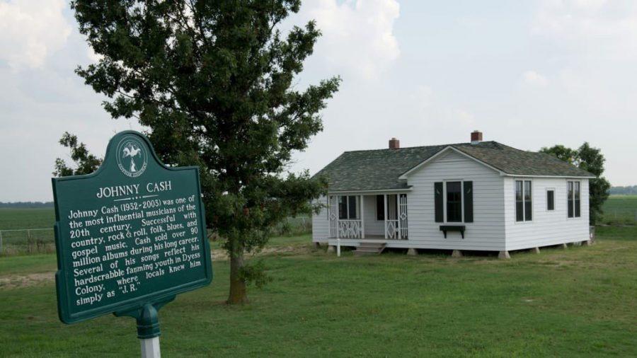 Дом, где вырос Джонни Кэш, стал историческим памятником