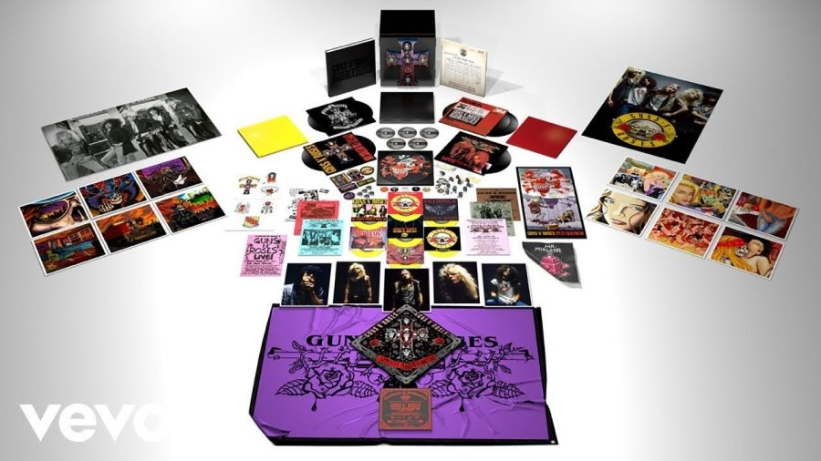 Вышло переиздание альбома Guns N' Roses - Appetite For Destruction